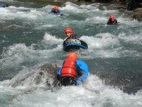 Hydrospeed nel fiume Noguera