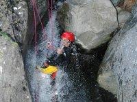 实践峡谷溪降利尔达