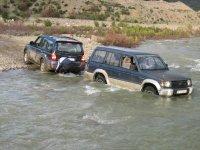 Cruzando un rio profundo