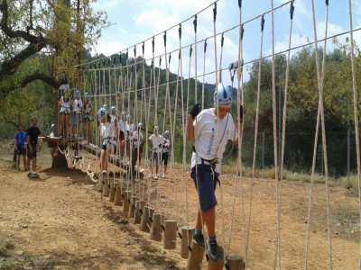 English Camp in Oropesa in August
