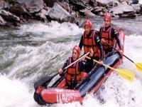 Three in the canoe