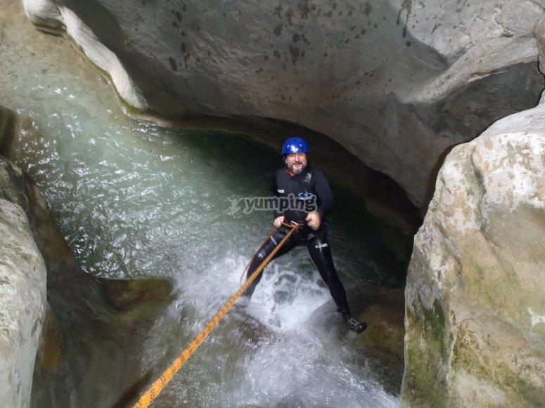 峡谷漂流技术