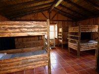Literas de madera campamento Boadilla