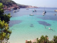 Acque cristalline nelle Isole Baleari