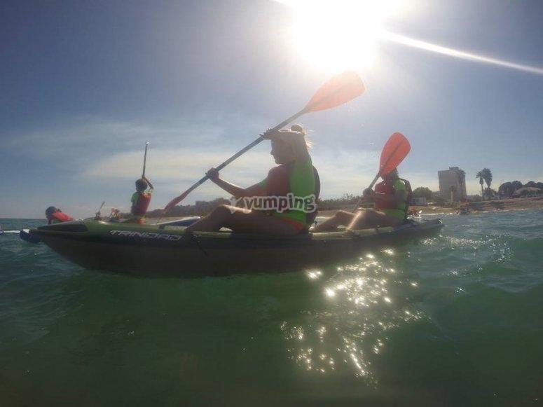 皮划艇营之旅