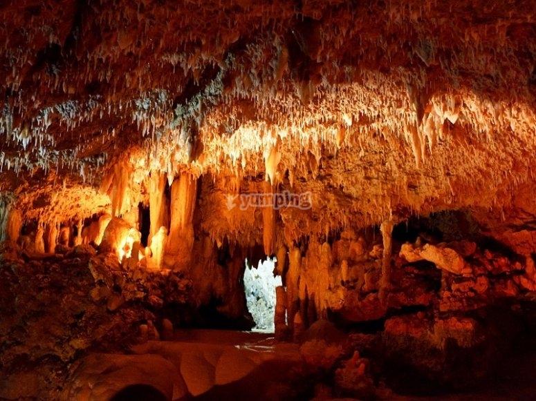 Subterranean places