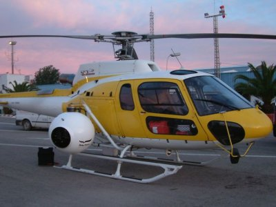 20 min helicopter tour in Valldemossa
