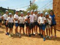 8月营地冒险和英语1周