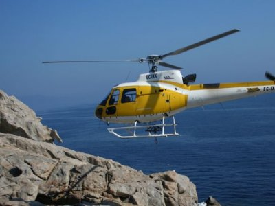 40 minutes helicopter tour over Sa Dragonera