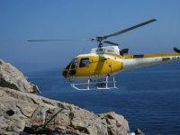 Sa Dragonera的直升机飞行,40分钟