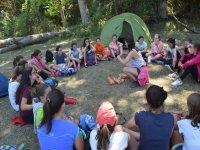 Un dia de acampada
