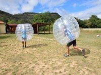 Futbol burbuja campamento de Cornejo