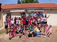 Grupo de campistas en Cornejo