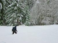 雪鞋步道漫步