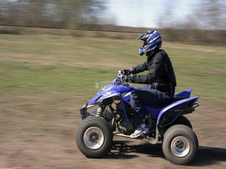 穿越pallars的四轮摩托车之旅