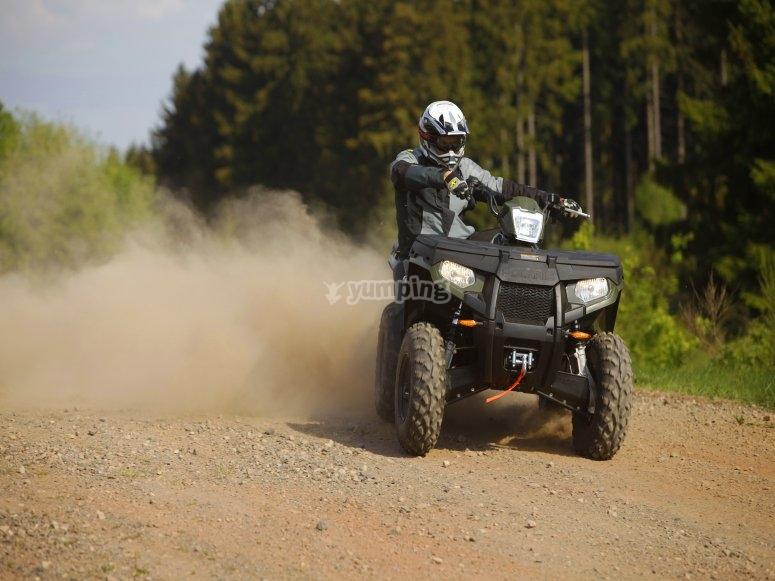 四轮摩托车路线