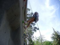 Artificial climbing in the camp