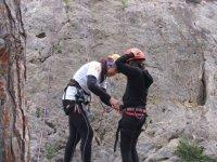 :保证登山者的腰部教学操作