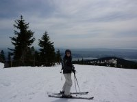 Learn cross-country skiing