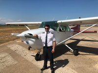 Pilot Cessna Light Aircraft, San Bonet