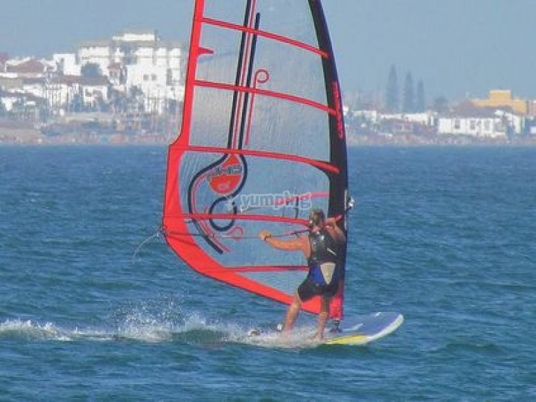 Learn how to windsurf