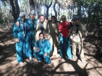 With paintball monkeys