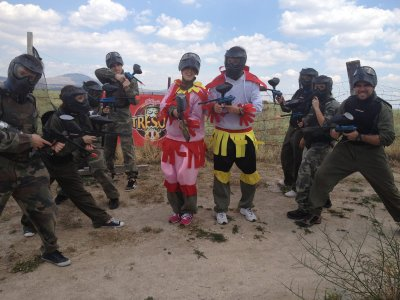 Paintball Colmenar 250 bolas barbacoa barra libre