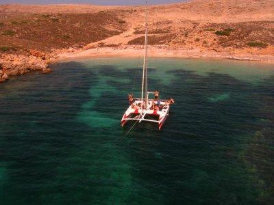 Excursión en catamarán 4 horas, Fornells, adulto