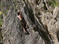 Climbing in León