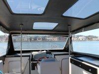 Dall'interno della barca