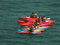 routes in canoes