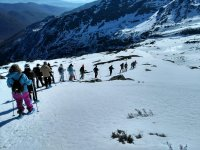Routes with snowshoes