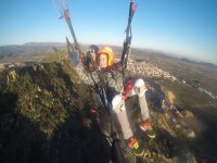Volare con istruttore di parapendio Valencia