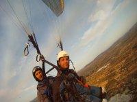 Tandem paragliding in Valencia