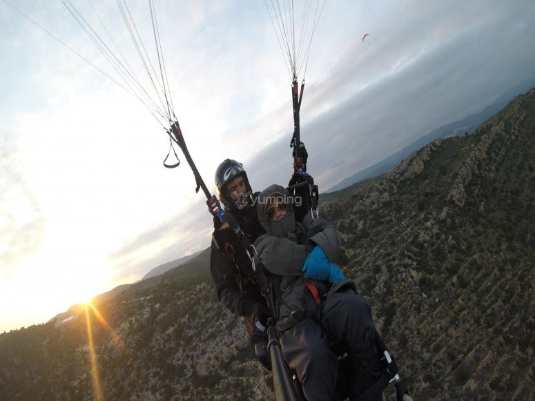Esperienza di volo in parapendio