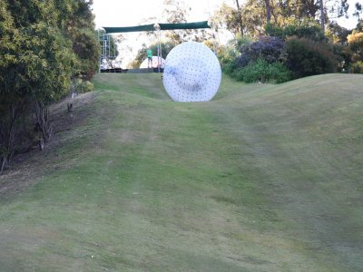 Zorbing circuit in Burgos, 1 hour