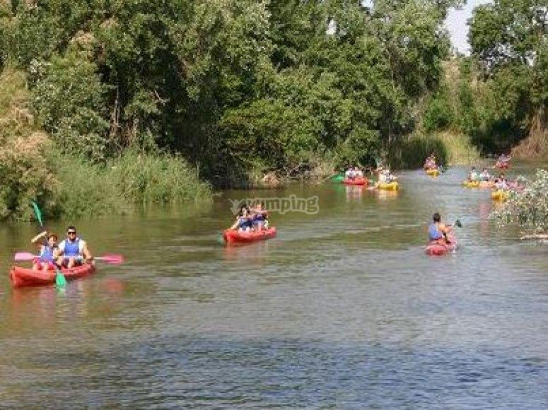 Canoeing in Jardines de Aranjuez