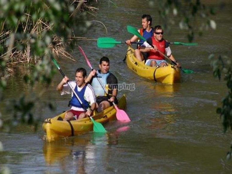 Canoeing in Aranjuez