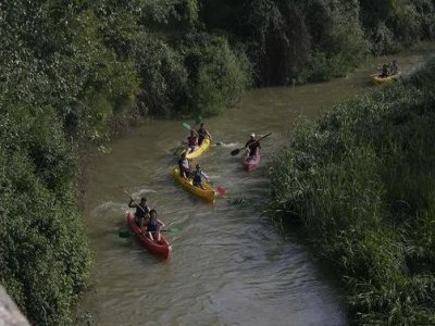 Guided canoeing route. Jardines de Aranjuez. 2 h.