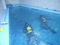 游泳池训练