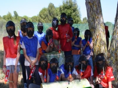 Paintball for children in La Palma de Cervelló