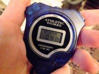 Cronometro azul