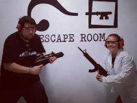 Pareja en la escape room