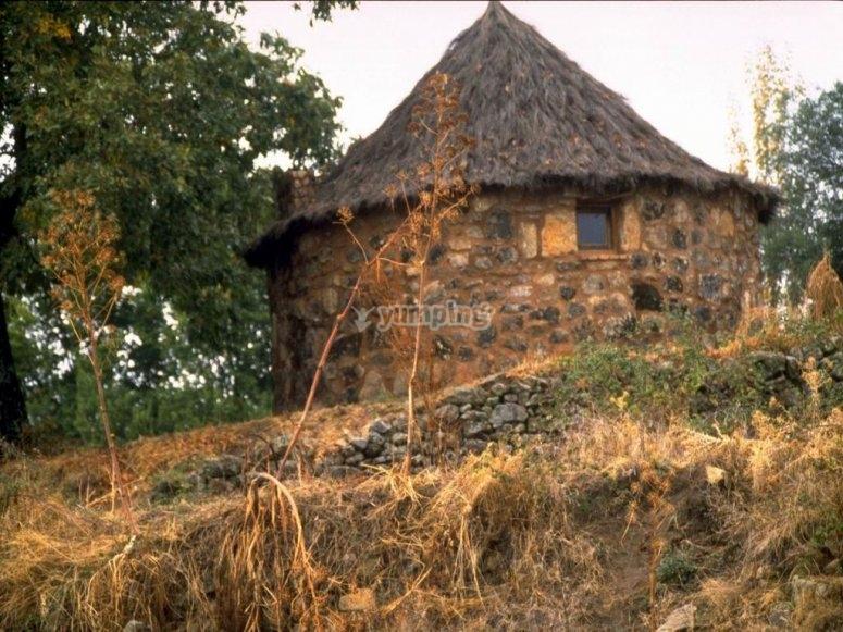 Exterior cabana celta