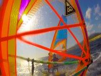 windsurf de cerca