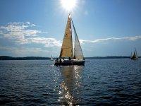 barca a vela sportiva