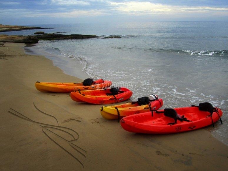 Iniciate con el kayak