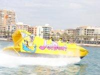 Brusque maneuvers at sea