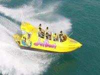 Osa con il jet boat