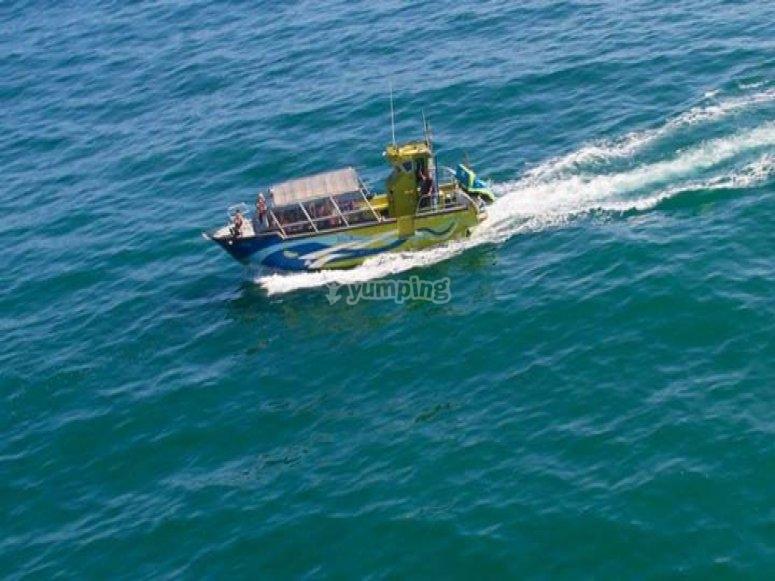 Navegando en el Cantabrico